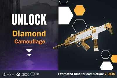 Call Of Duty Cold War Diamond Camouflage Unlock