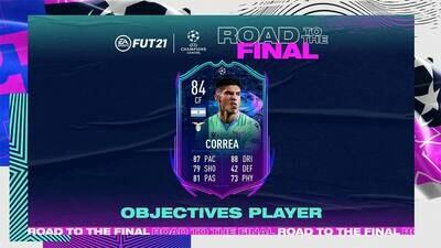 FIFA 21 RTF Correa Objective