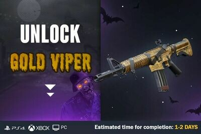 Call Of Duty Cold War Zombies Gold Viper Camouflage Unlock