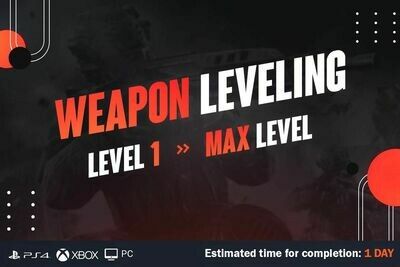 Call Of Duty Cold War Weapon Leveling
