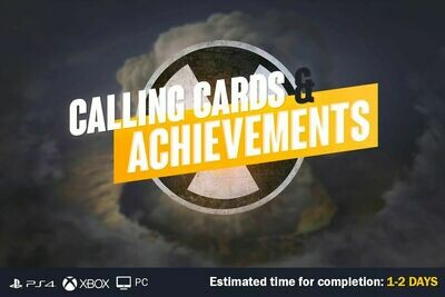 Call Of Duty Cold War Achievements and Calling Cards