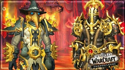 WOW Shadowlands Castle Nathria Full Gear
