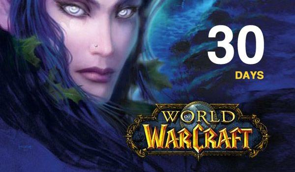 WOW 30 Days Game Time (EU) $11.99