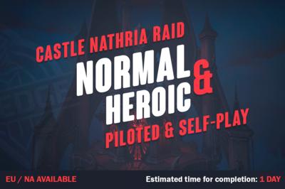 WOW Shadowlands Castle Nathria Raid
