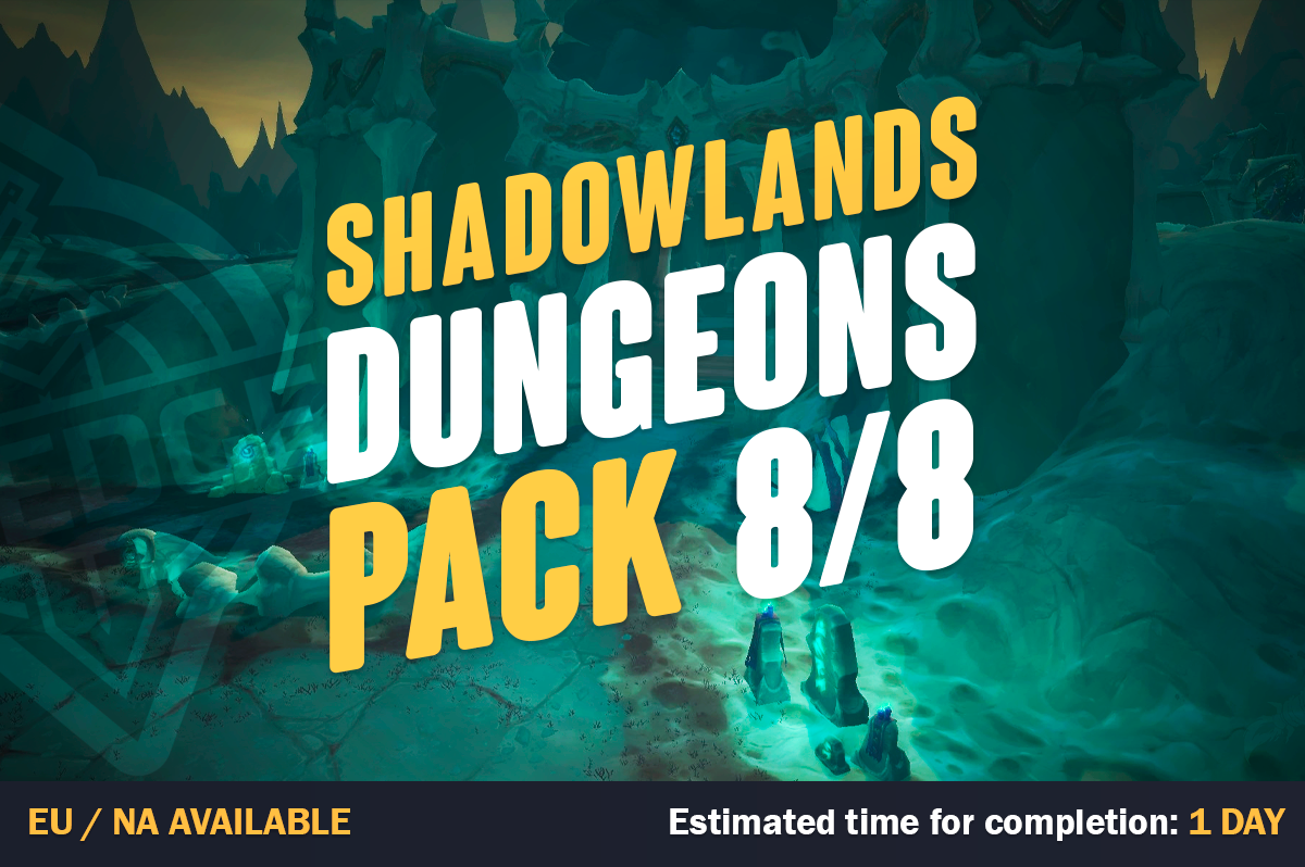 WOW Shadowlands Dungeon Pack