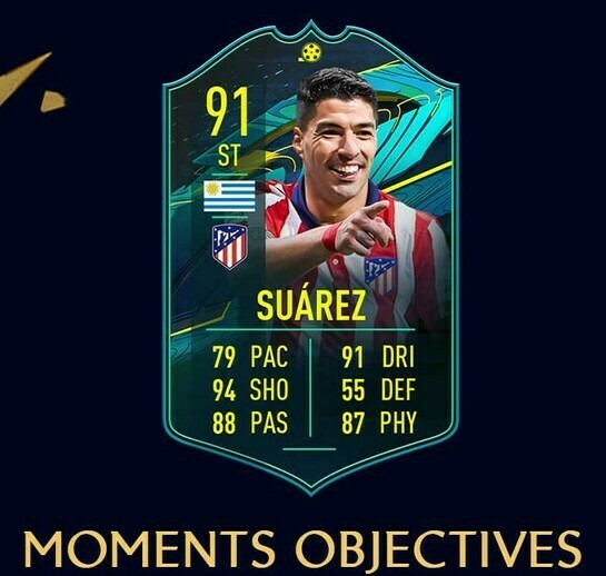 FIFA 21 Moments Suarez