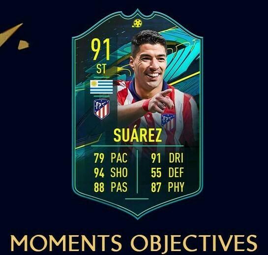 FIFA 21 Moments Suarez