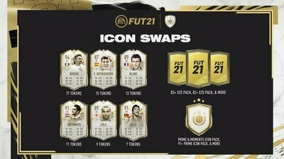 FIFA 21 Icon Swaps Series 2 Series 2 (29 March-7th of May)