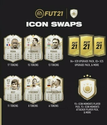 FIFA 21 Icon Swaps Series 3  (22nd June-29th July)