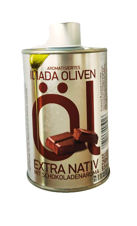 Olivenolie med chokolade
