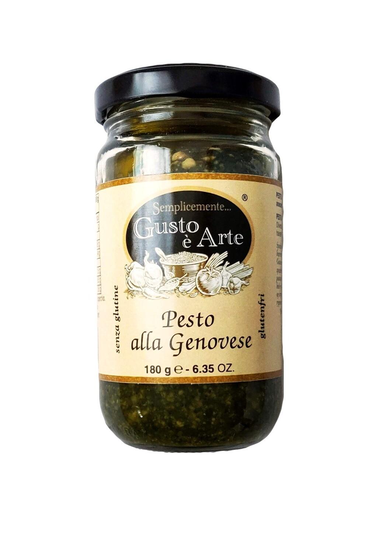 Pesto, olivenolie