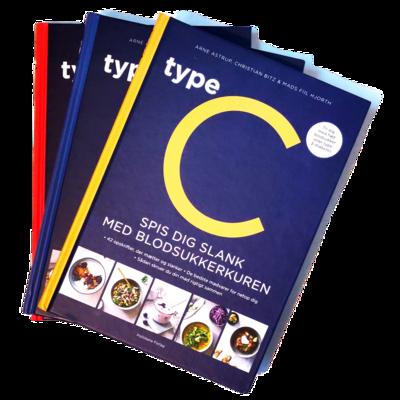 Type C, spis dig slank efter dit blodsukker