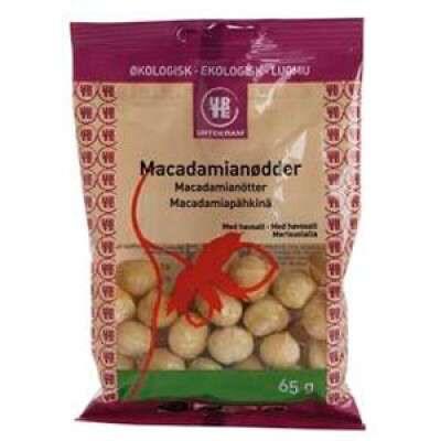 Macadamianødder med Havsalt