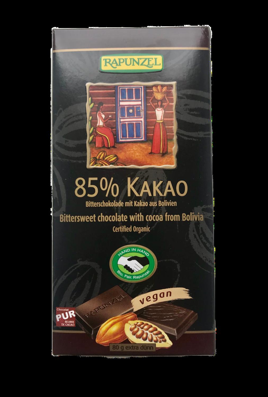 Chokolade 85%