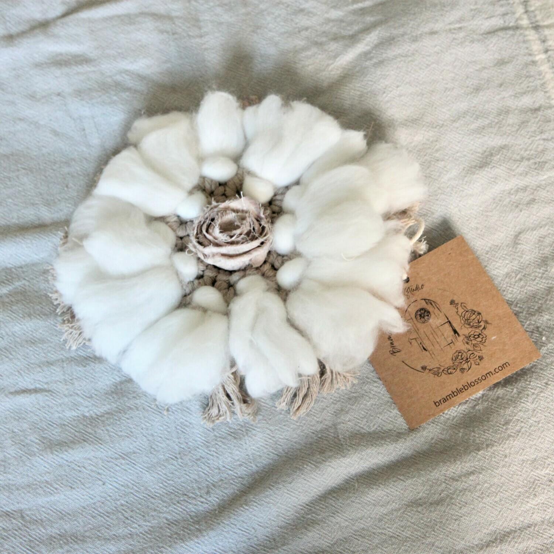 Cottonwood Flower - Mini Macrame Wall Decor