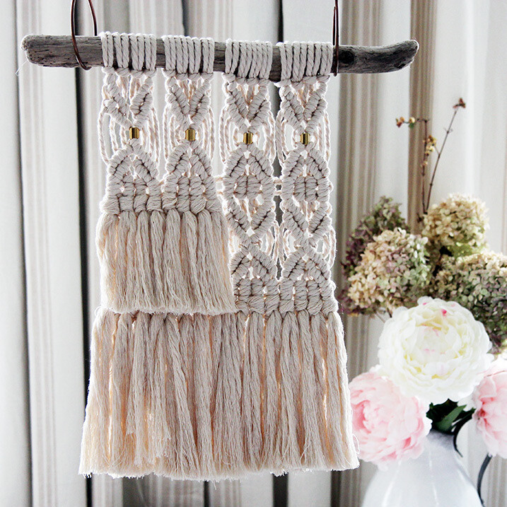 Tassels and Brass Boho Home Decor
