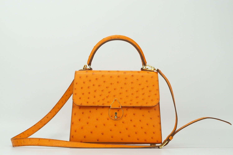 Dolores 22 Ostrich Orange