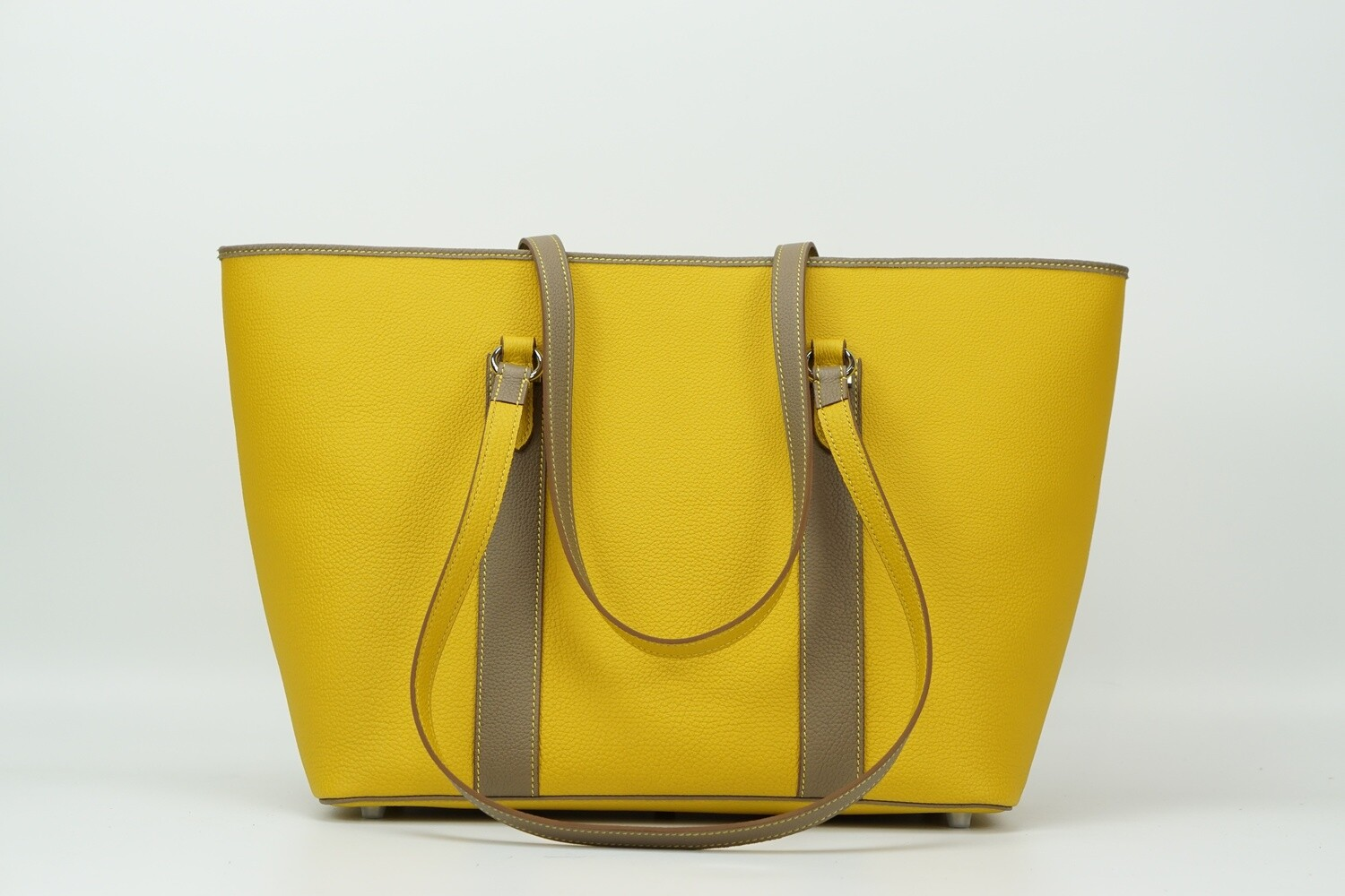 Tote 33 Togo Amber Gold