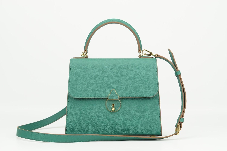 Dolores 22 Epsom Emerald