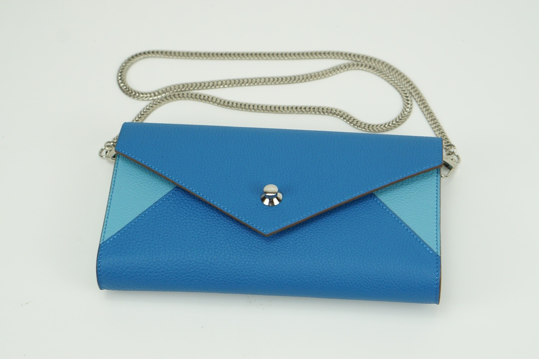 Envelope Togo Cerulean/sky blue