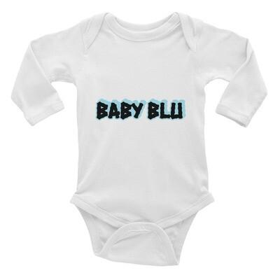 """Oh Baby"" Baby BLU Infant Long Sleeve Bodysuit"