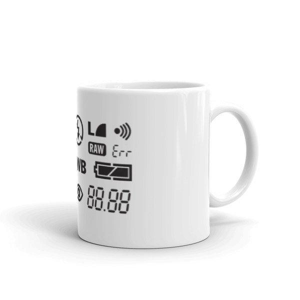 Mug - camera screen