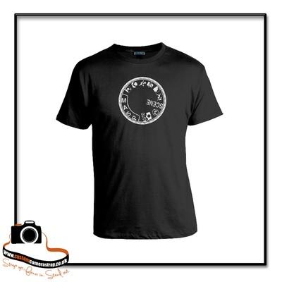 camera dial t-shirt