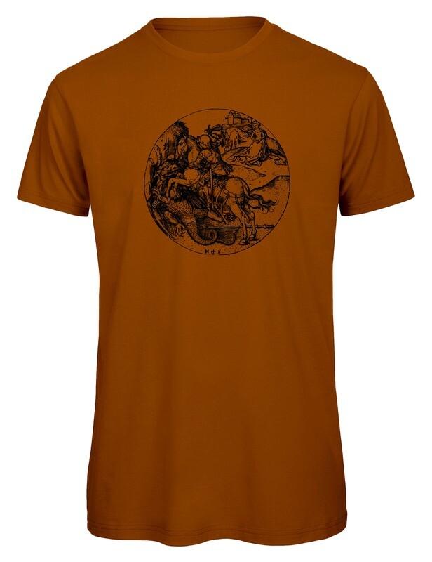 Bio T- Shirt Siebdruck, 6 Farben, Georg