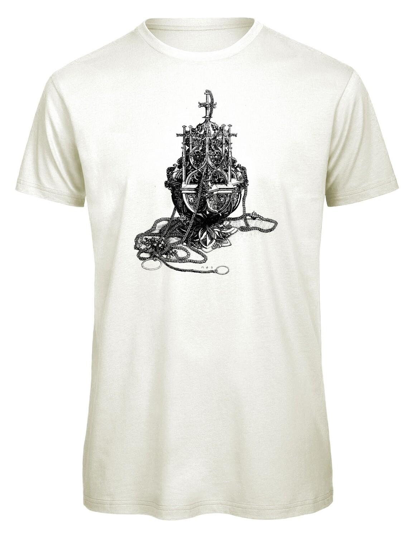 Bio T- Shirt Siebdruck, 6 Farben, Rauchfass