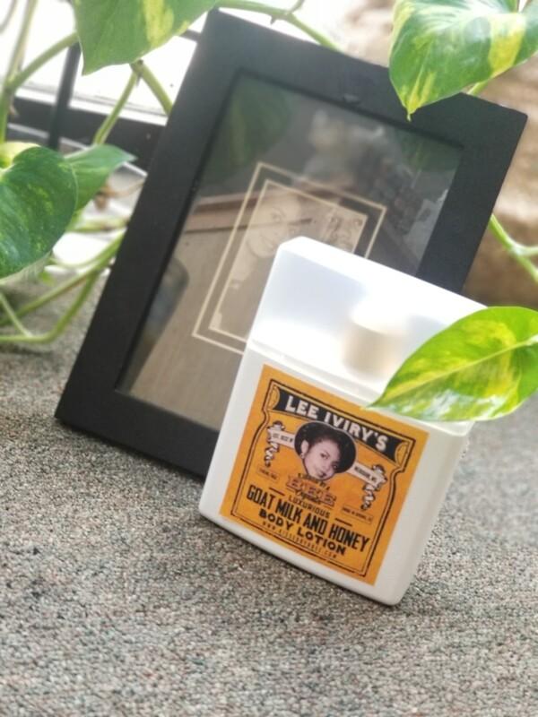 Lee Iviry's Luxurious Goat Milk & Honey Body Lotion (8 oz)