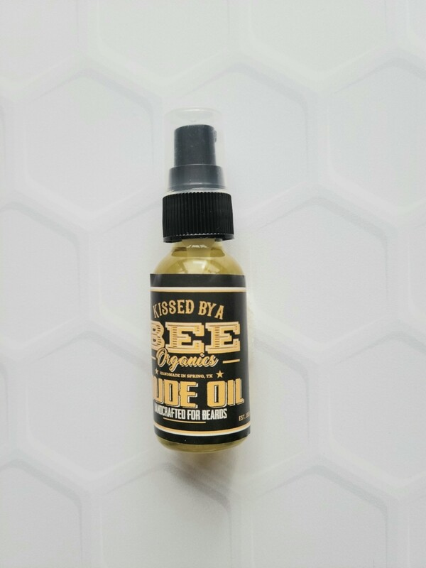 DUDE OIL FOR BEARDS (1 oz)