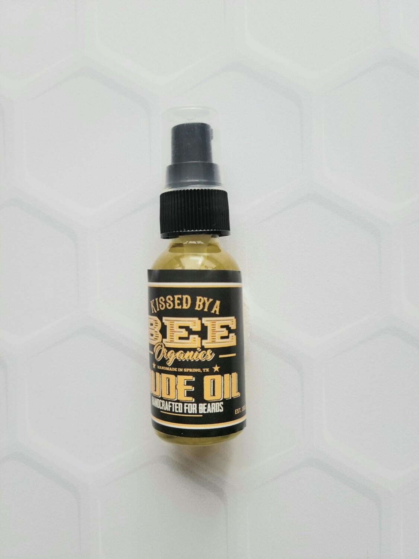 DUDE OIL FOR BEARDS (1 oz)