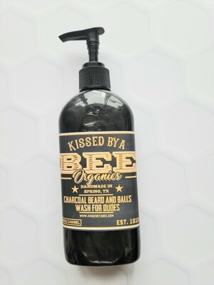 CHARCOAL BEARD AND BALLS WASH