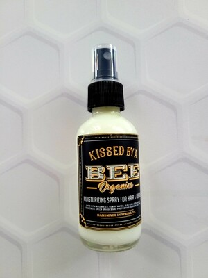 Moisturizing Spray for Hair & Beards - 2 oz