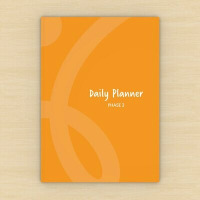 Low Carb Coaching Dietflex Daily Planner 3 (5 planners)