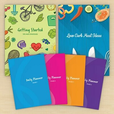 Low Carb Coaching New Business Pack Booklet & Planners