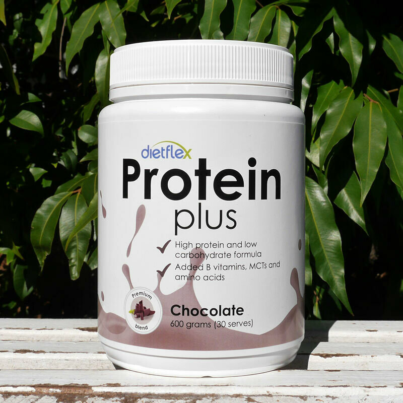 Low carb, Protein Plus Chocolate powders, 12 pots