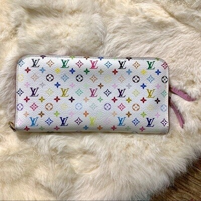 Louis Vuitton - MULTICOLOR LITCHI INSOLITE MONOGRAM  WALLET