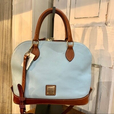 DOONEY & BOURKE - BLUE ROUND TOP SATCHEL