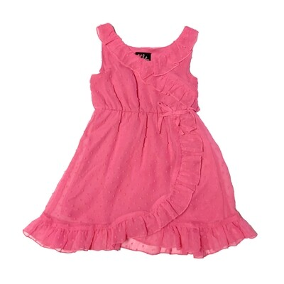 LILT - Girls Pink Ruffle Dress