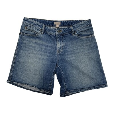 J. Jill - Boyfriend Denim Bermuda Shorts