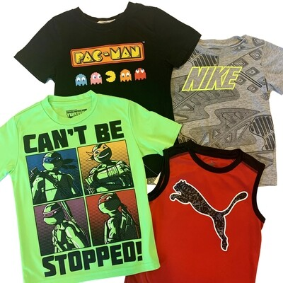 BOYS [4-6] SHIRT BUNDLE - 4 piece set - Zach