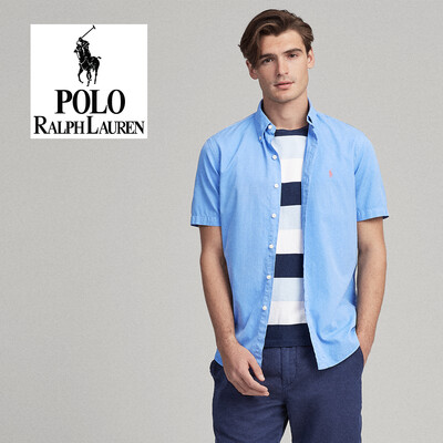 POLO Classic Fit Twill Shirt - Featherweight
