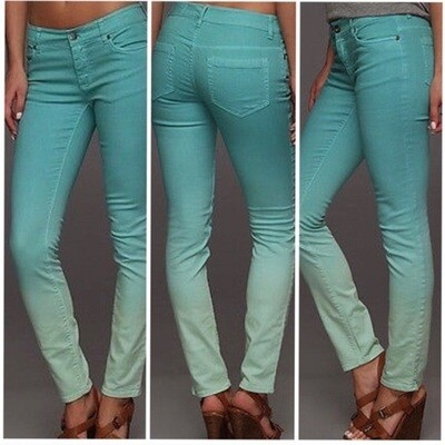 TWO BY VINCE CAMUTO - TEAL OMBRE PANTS