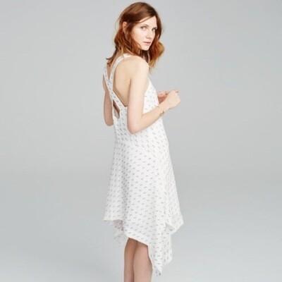 Club Monaco Seanell Dress in White