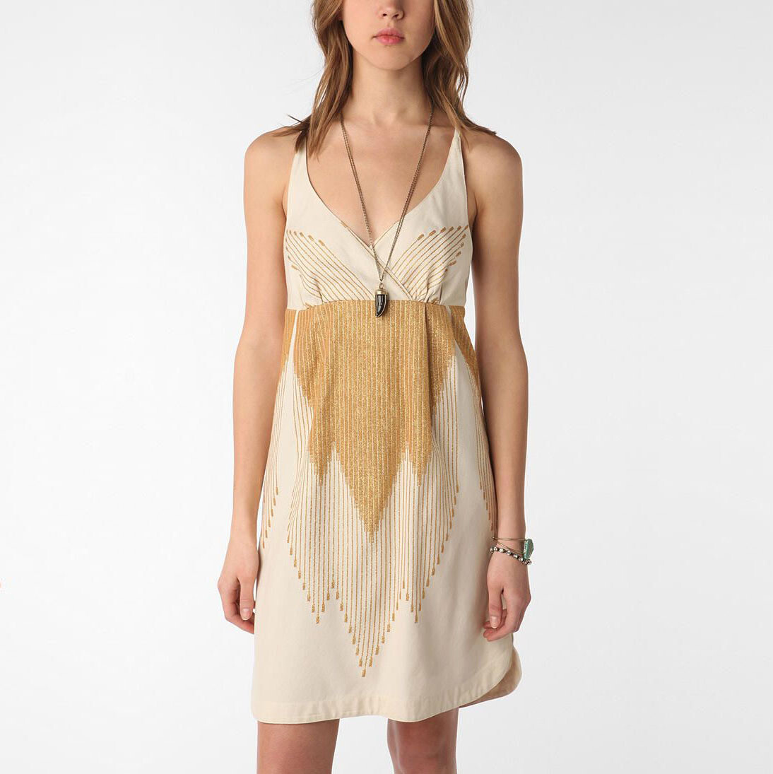 Ecote - Desert Dress - Gold/Cream