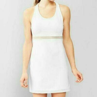 GAP FIT - WHITE ACTIVE DRESS