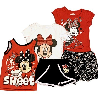 GIRLS [4T] 4 Piece Bundle - Minnie