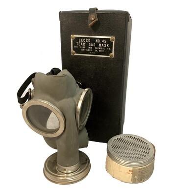 LECCO NO. 45 TEAR GAS MASK KIT