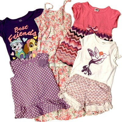 GIRLS [4T] 6 Piece Bundle - Lizzie